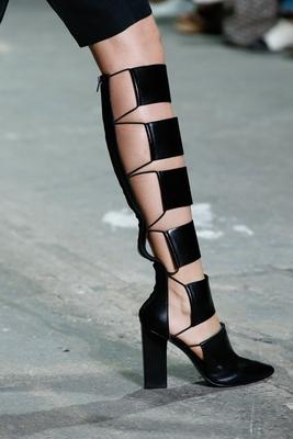 Модная женская обувь весна-лето 2013