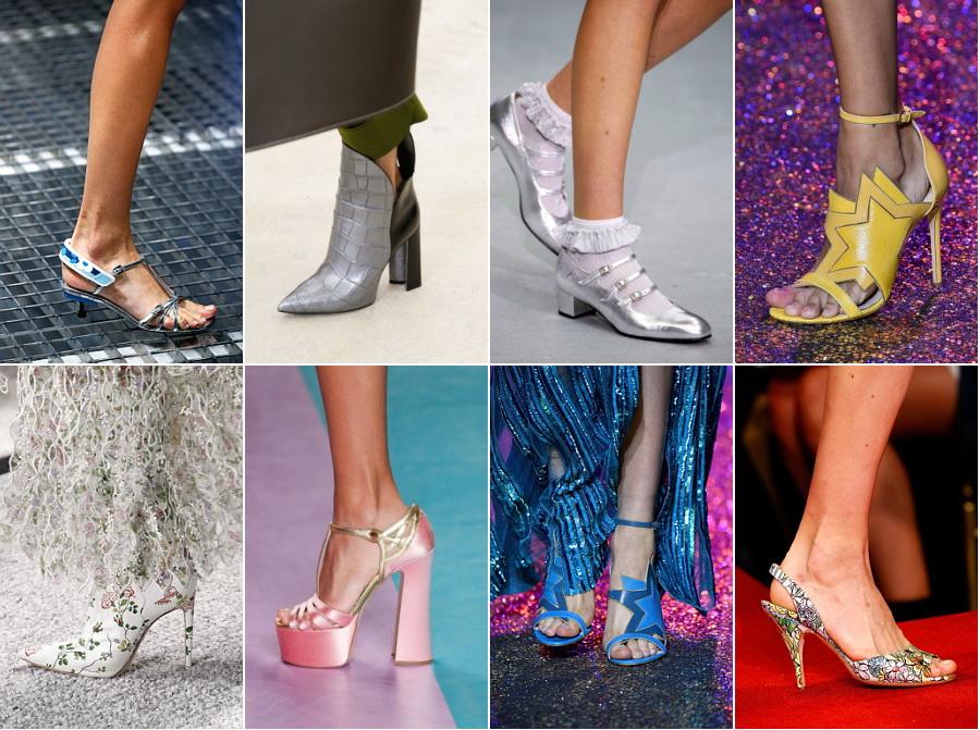 Модные туфли весна 2017 год