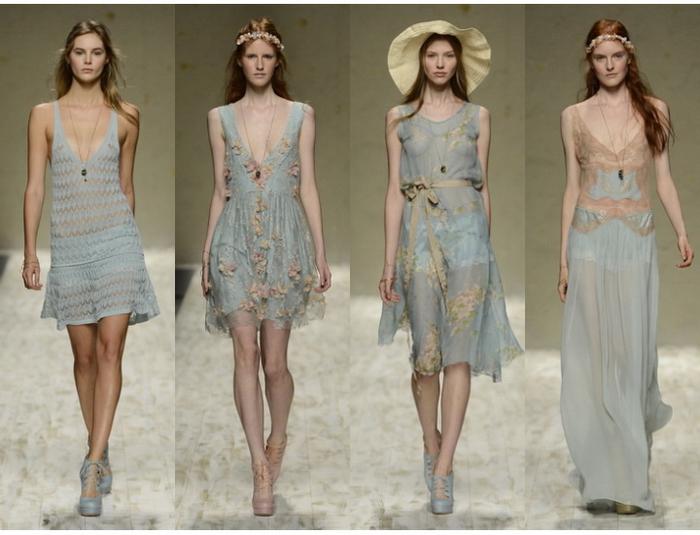 Модное платье весна-лето 2013