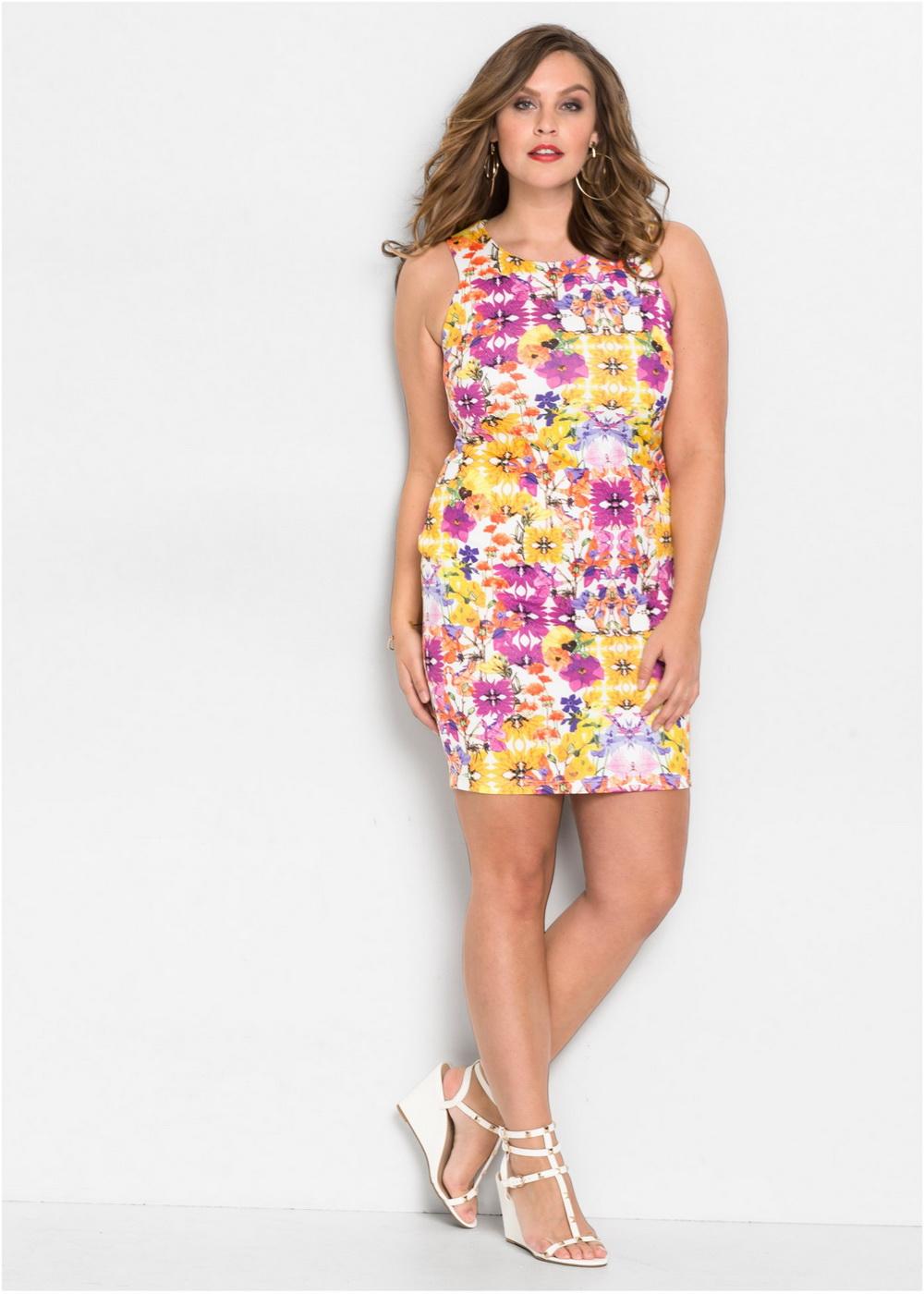 fb5b62e05af 100+ самых красивых летних платьев для полных