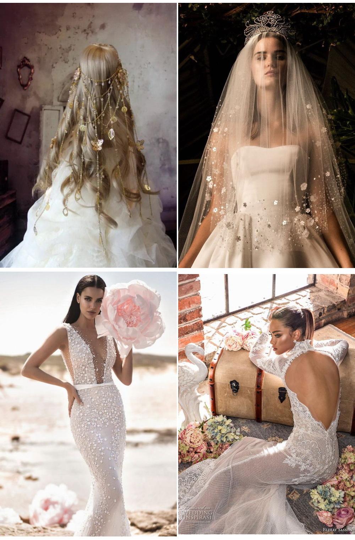 необычные Аксессуары для невесты 2020