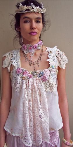 Кружевные блузки