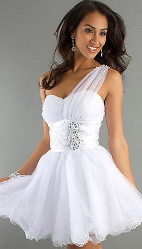 Короткие платья на выпускной фото