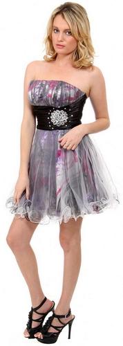 Короткие платья на выпускной