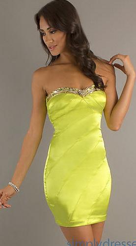 Неоновые платья
