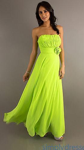 Платье салатового цвета фото