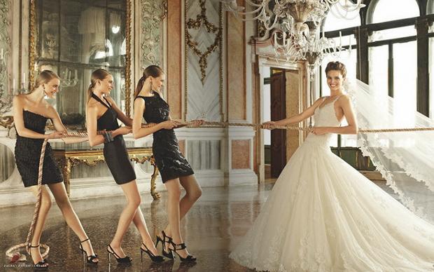 Самые красивые свадебные платья 2013