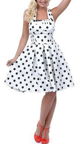 черно-белые платья