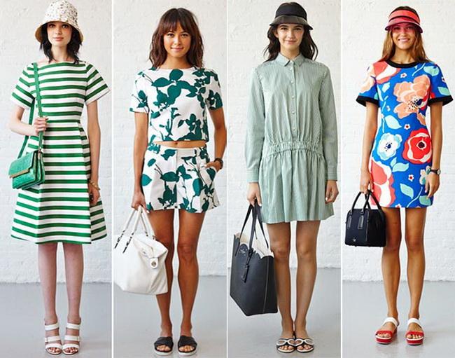 Модная одежда весна лето 2015
