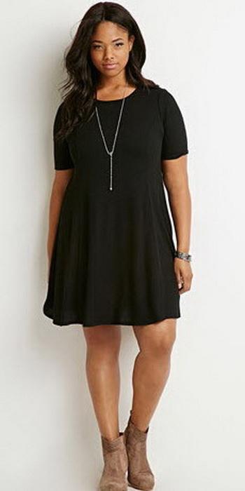 Стильные платья для 50 размера