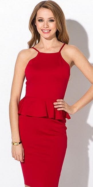 Макияж для платья бежевого цвета