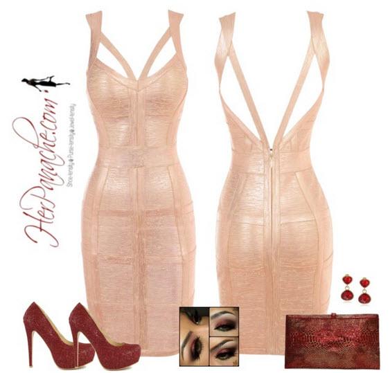 Бандажные платья