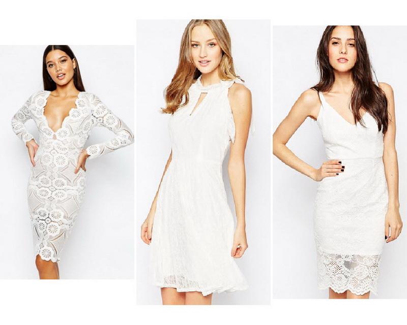 Короткое Кружевное Платье Купить