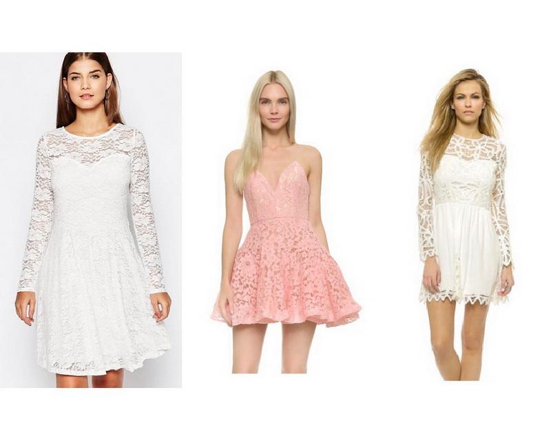 Кружевное Свадебное Короткое Платье Купить