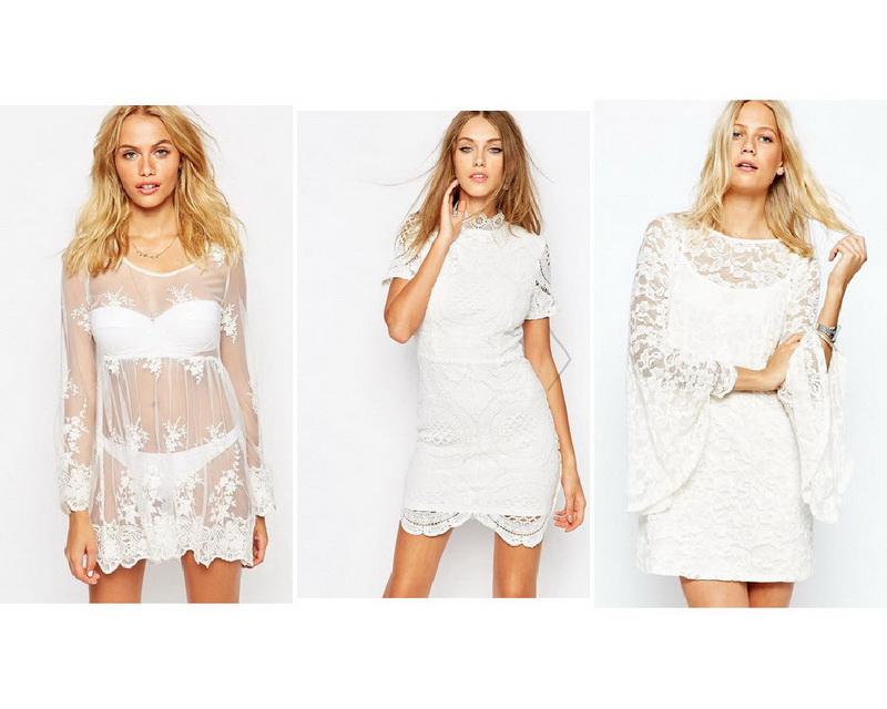 Купить Кружевное Свадебное Платье Короткое