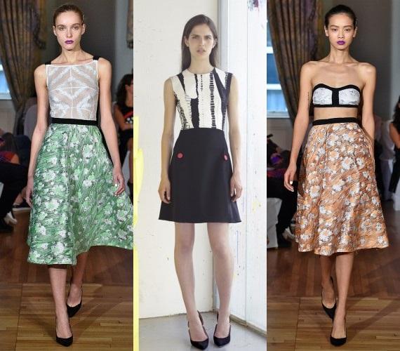 Подиумные юбки