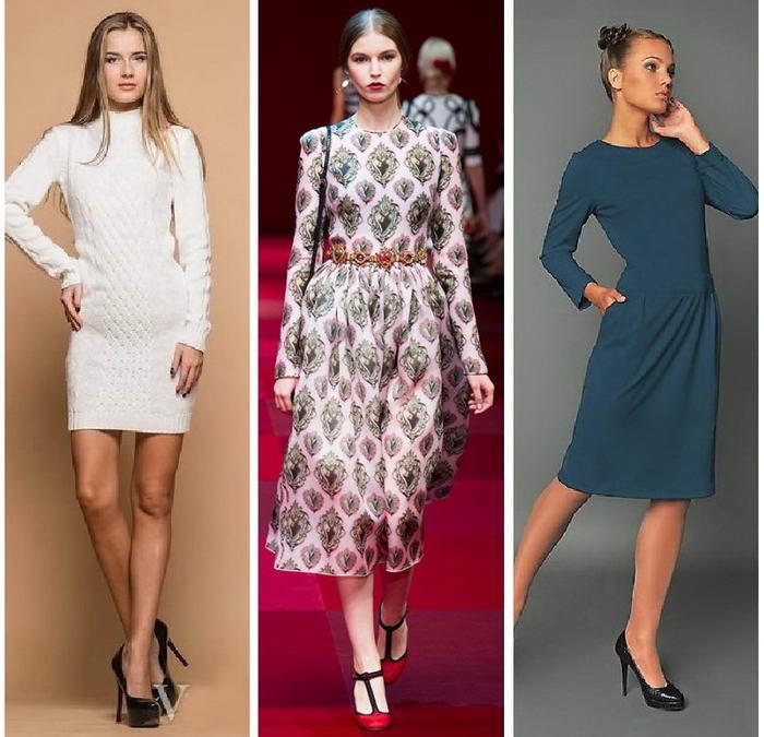 Модные платья закрытые