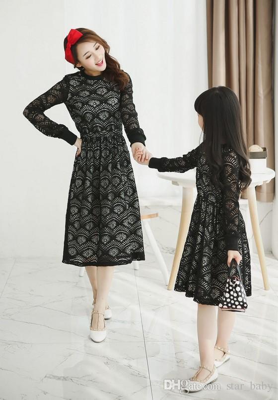 Одинаковые платья для мамы и дочки
