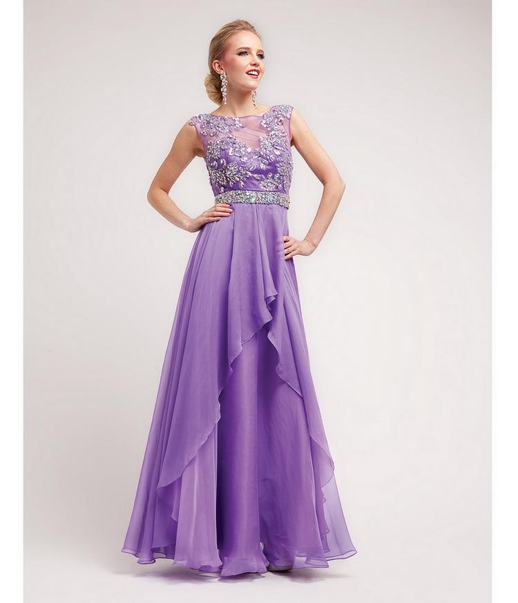 Красивые платья сиреневые фото